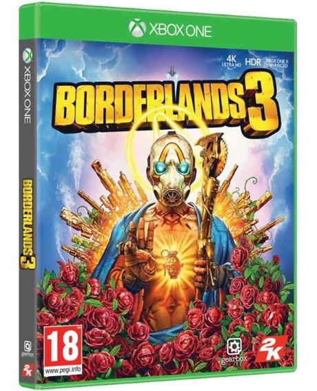 Jogo Borderlands 3 Xbox One Midia Fisica Lacrado Português