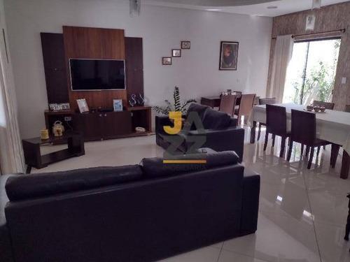 Imagem 1 de 19 de Linda Casa Com 4 Dormitórios (03 Suítes) À Venda, 270 M² Por R$ 1.120.000 - Parque Novo Mundo - Americana/sp - Ca13061