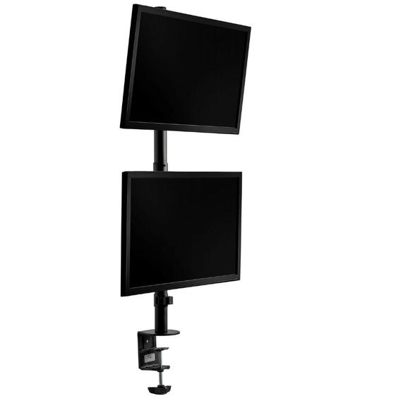 Suporte 2 Monitores Vertical De Mesa De 15 A 34 V1224c