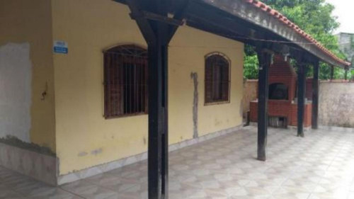 Boa Casa Com Edícula Á 700 Mts Do Mar Em Itanhaém - 3535 Npc