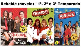 Novela Rebelde Completa - As 3 Temporadas Dublado