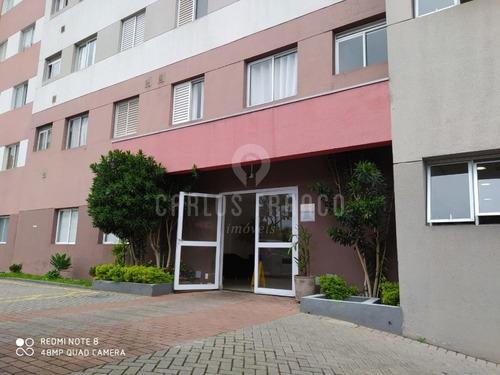 Apartamento De 31m² Com 1 Dormitório, Living, 1 Banheiro, 1 Vaga No Cambuci - Cf62219
