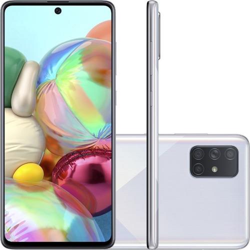 Celular Samsung A71 128gb - Prata Usado