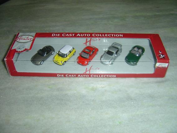 Miniaturas Hamleys Pack 5 Bmw Mini Morris Porsche New Beetle