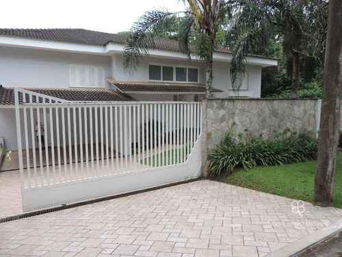 Casa Com 4 Dormitórios À Venda, 800 M² Por R$ 5.500.000,00 - Granja Viana - Cotia/sp - Ca0193