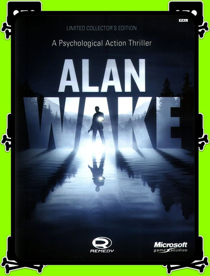 Alan Wake Collector Edition Pc - 100% Original (steam Key)