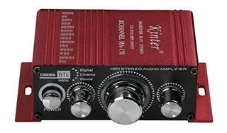 Amplificador De Potencia Para Coche O Mp3