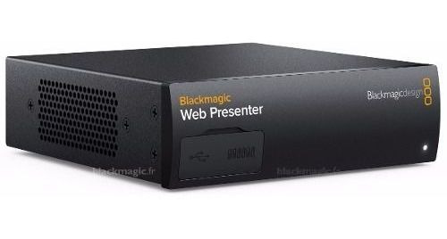 Blackmagic Design Web Presente