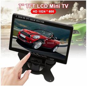 Monitor 7 Polegadas C/ Fonte + Hdmi + Audio + Fullhd 1080p