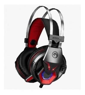 Fone De Ouvido Headset Gamer Marvo Hg8914 Preto/ver
