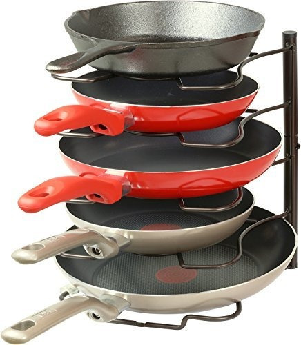 Simple Houseware Cocina Gabinete Despensa Pan Y Olla Tapa Or