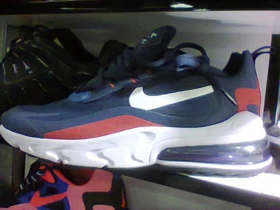 Tenis Nike Air Max React 270 Azul/branco/vermelho Nº41!!!!