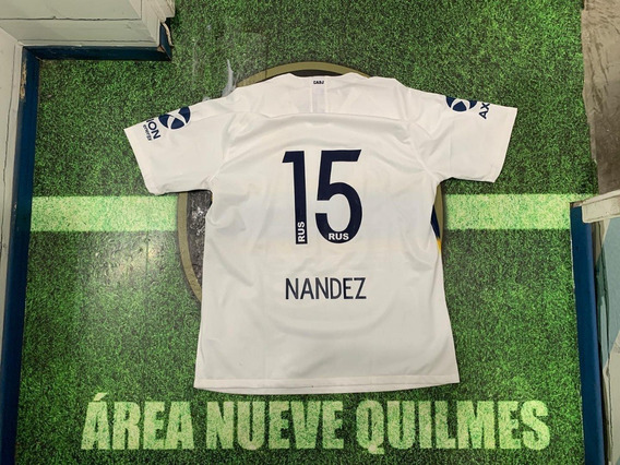 Camiseta Boca Suplente 2019 #15 Nandez