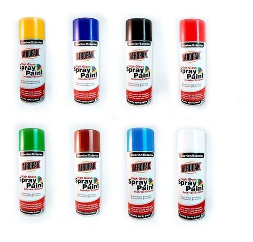 Imagen 1 de 5 de Pintura En Spray Aerosol Hessen Colores Varios Ma-ma