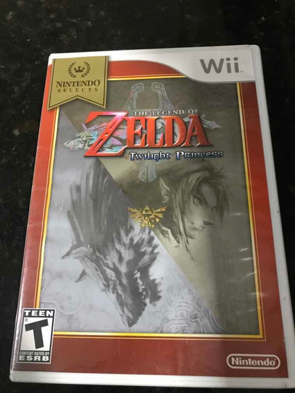 Jogo Nintendo Wii The Legend Of Zelda Twilight Princess Orig