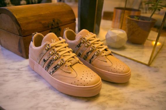 Tenis Mujer Zapatos Sneakers Zapatillas Barcelona Rosa
