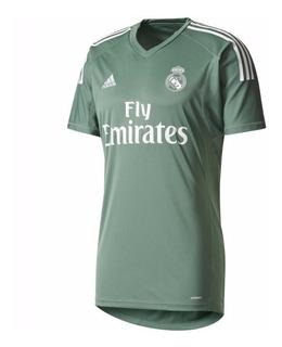 Camisa adidas Real Madrid Verde 17/18 - Goleiro