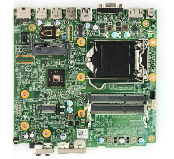 Placa Mãe Dell Optiplex Mini 3020m 0vr8v9 N9jgr Pih81r Dell
