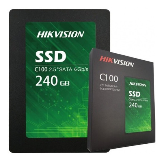 Disco Sólido Ssd Hikvision C100/240g 240gb Sata 3.0gb Pce Rt