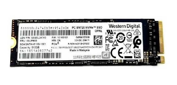Memoria Lenovo Ssd M2 512gb 3.3v 2.8a Western Dig Sn720 Nvme