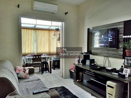 Imagem 1 de 18 de Apartamento À Venda, 69 M² Por R$ 265.000,00 - Embaré - Santos/sp - Ap2994