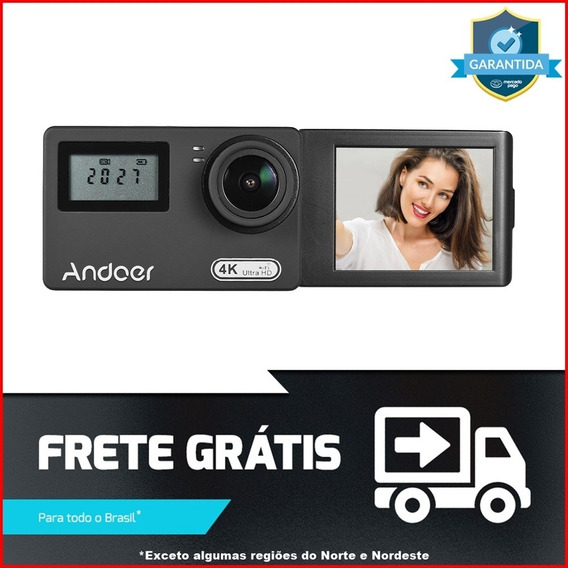 Camera Andoer An300 4k Uhd + Acessórios Completos