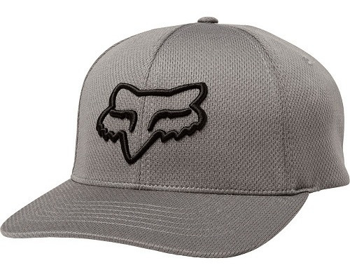 Gorra Fox Lithotype Flexfit (gris Oscuro)