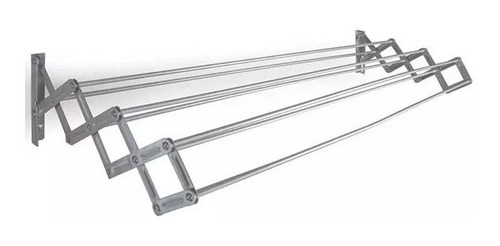 Tendedero Plegable De Pared Aluminio