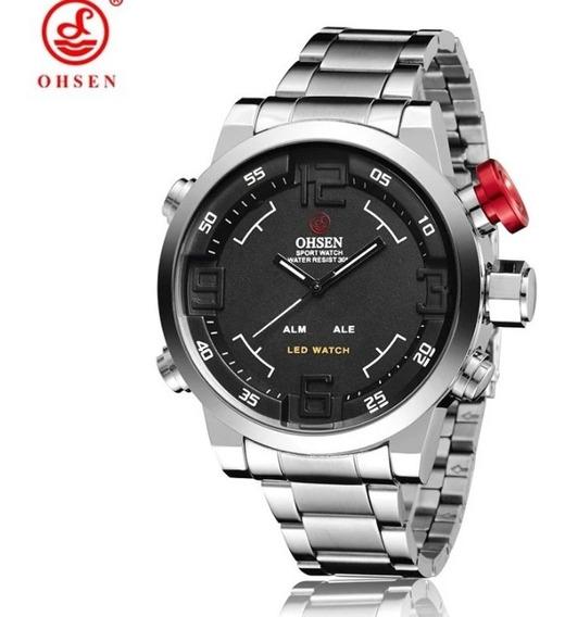 Relógio Ohsen Original Pronta Entrega Frete Grátis Barato