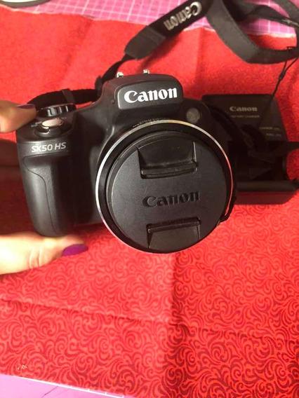 Câmera Canon Semi Profissional Sx50hs Semi Nova Pouco Usada