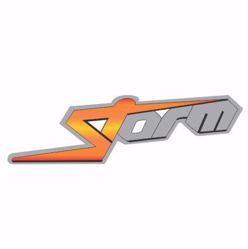 Adesivo Emblema Ford Fiesta Storm