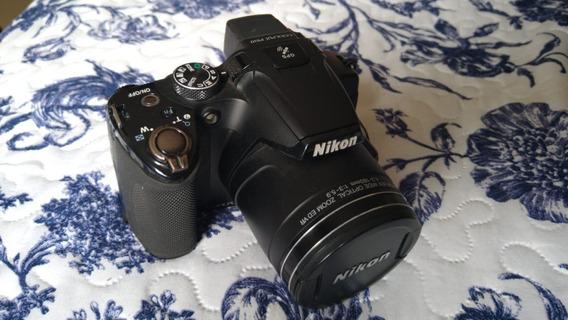 Câmera Nikon Coolpix P510 Usada.
