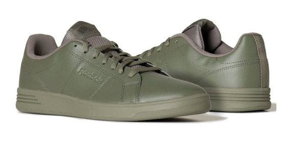 Tenis Casual Hombre Reebok Royal Rally Verde Bs9050 Original
