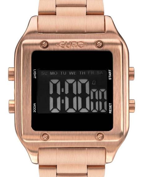 Relógio Euro Feminino Eug2510ad/4j Original Rosê