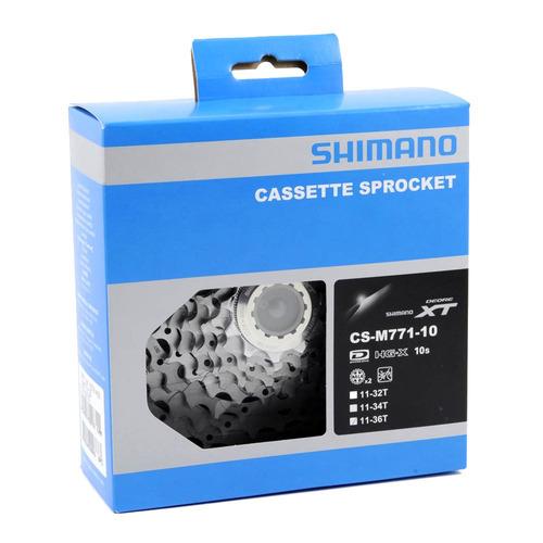 Cassete 10v Index 11-36d Cs M771 Dyna-sys Deore Xt - Shimano | Mercado Livre