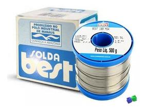 Solda Best Estanho - 189msx10 - 60x40 - Azul - 500g