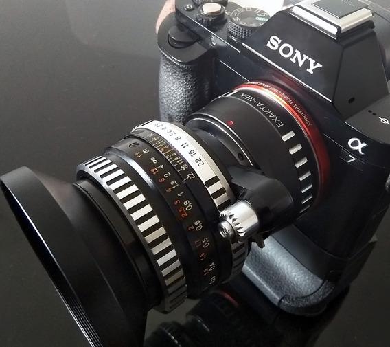 Carl Zeiss Flektogon Makro Exa + Adaptador Sony E-mount