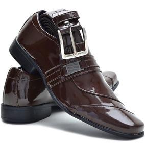 e52b345805221 Sapato Masculino Couro Duas Cores Sapatos Sociais - Sapatos com o ...