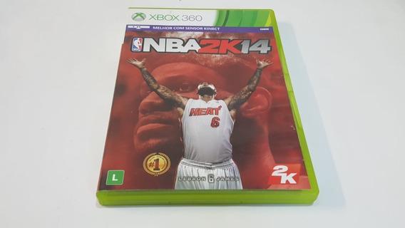 Nba 2k14 - Xbox 360 - Original - Mídia Física