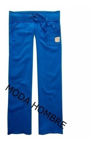 Pantalon Pants En Color Azul Aeropostale Original Xxl