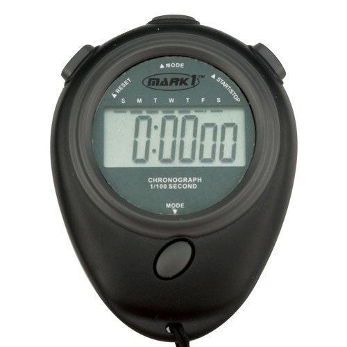 Mark 1economía Cronómetro (negro)