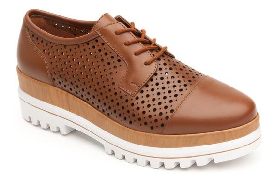 Zapato Trendy Casual Flexi Dama 101101 Café