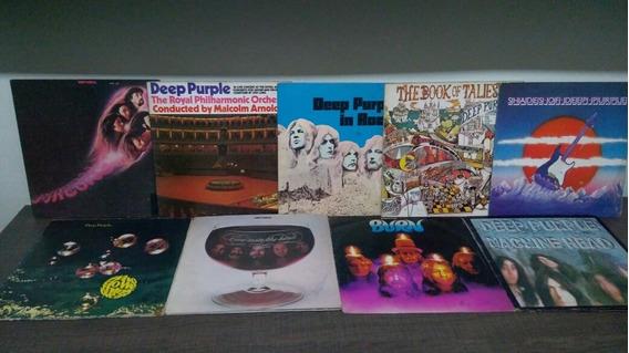 Deep Purple Lote 9 Lps Nacionais Regular/bom Estado
