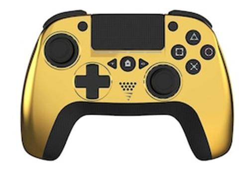Imagen 1 de 1 de Control joystick inalámbrico VoltEdge CX-50 Chrome chrome gold