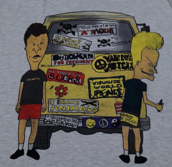 Camiseta Beavis Mescla Kombi Chemical Cc1503
