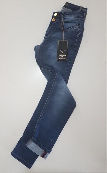 Calca Jeans Fem. Intermediaria C/ 2 Botoes