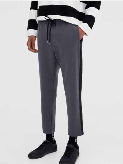 Pantalón Vestir Hombre Raya Al Costado Importado