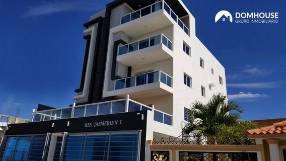 atractivo Apartamento En Alquiler En Santo Domingo Este.