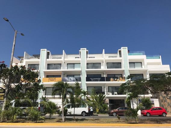 Departamento En Venta A Tres Cuadras De La Playa En Playa Del Carmen (765)