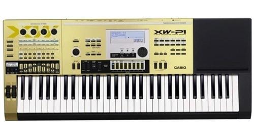 Sintetizador Teclado Casio Xw-p1gd 61t Sensitivo Usb Envio